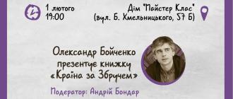 «Країну за Збручем» Олександра Бойченка презентують у Києві